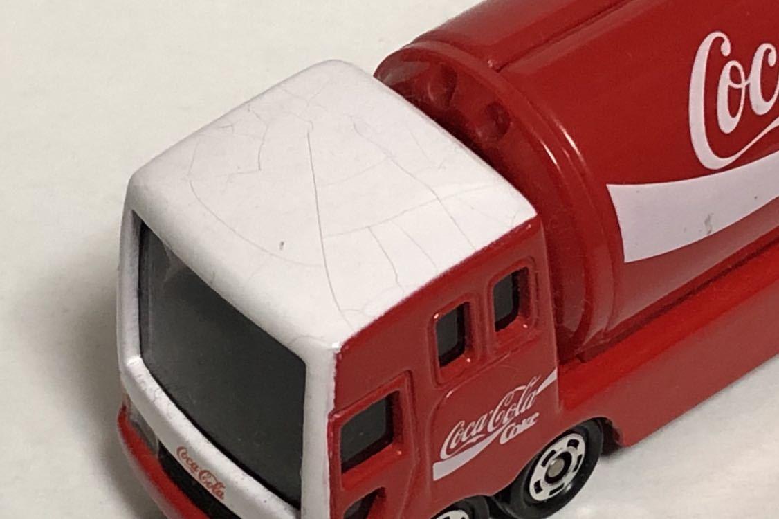 トミカ 37 コカ・コーラ イベントカー ウィング トラック コカコーラ 三菱ふそう 赤箱 絶版 廃盤 希少 細部彩色 細部塗装 レア MITSUBISHI_画像8