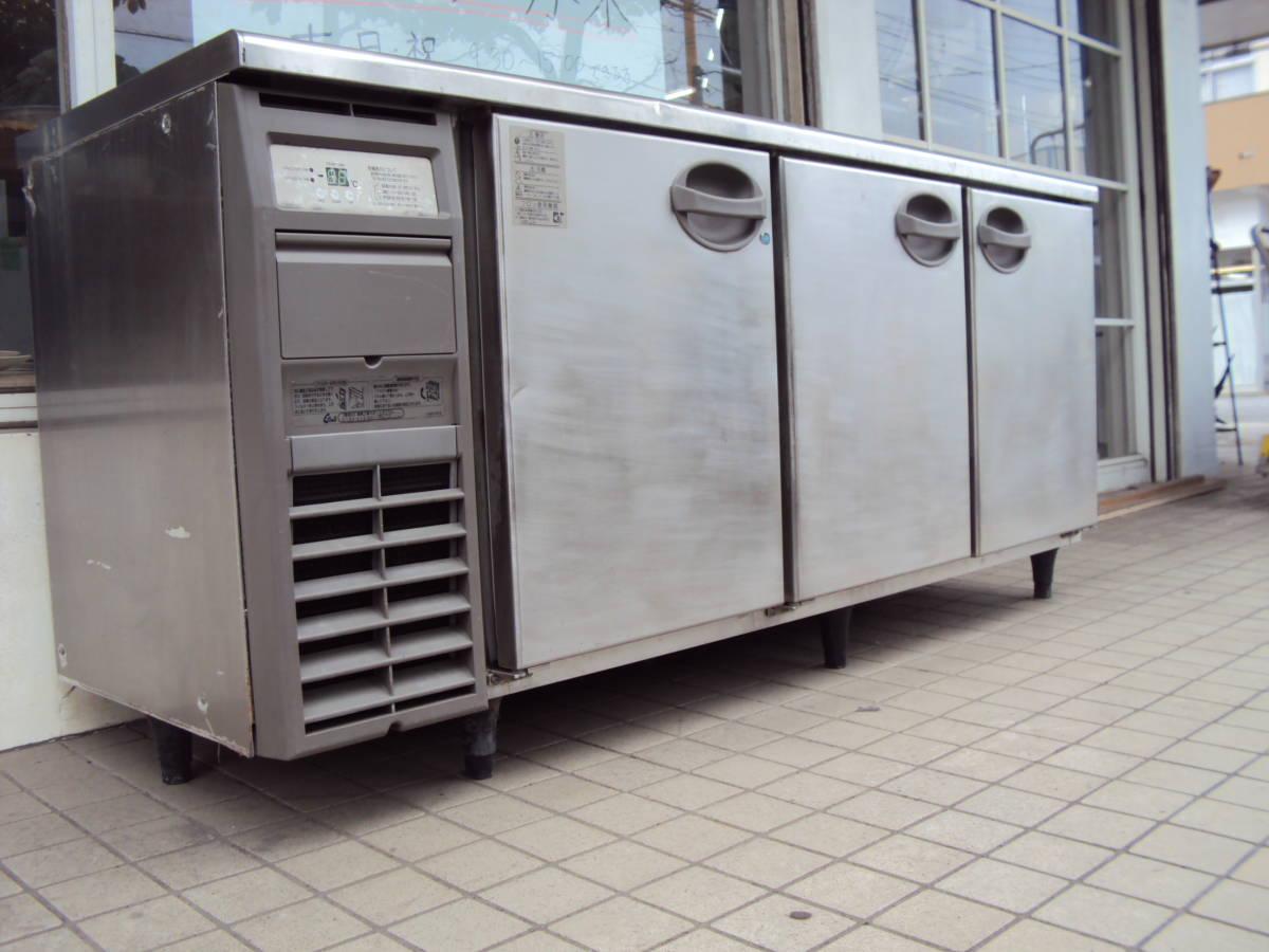 福島工業 フクシマ 業務用 冷凍冷蔵庫 コールドテーブル YRC-181PE 厨房機器 中古