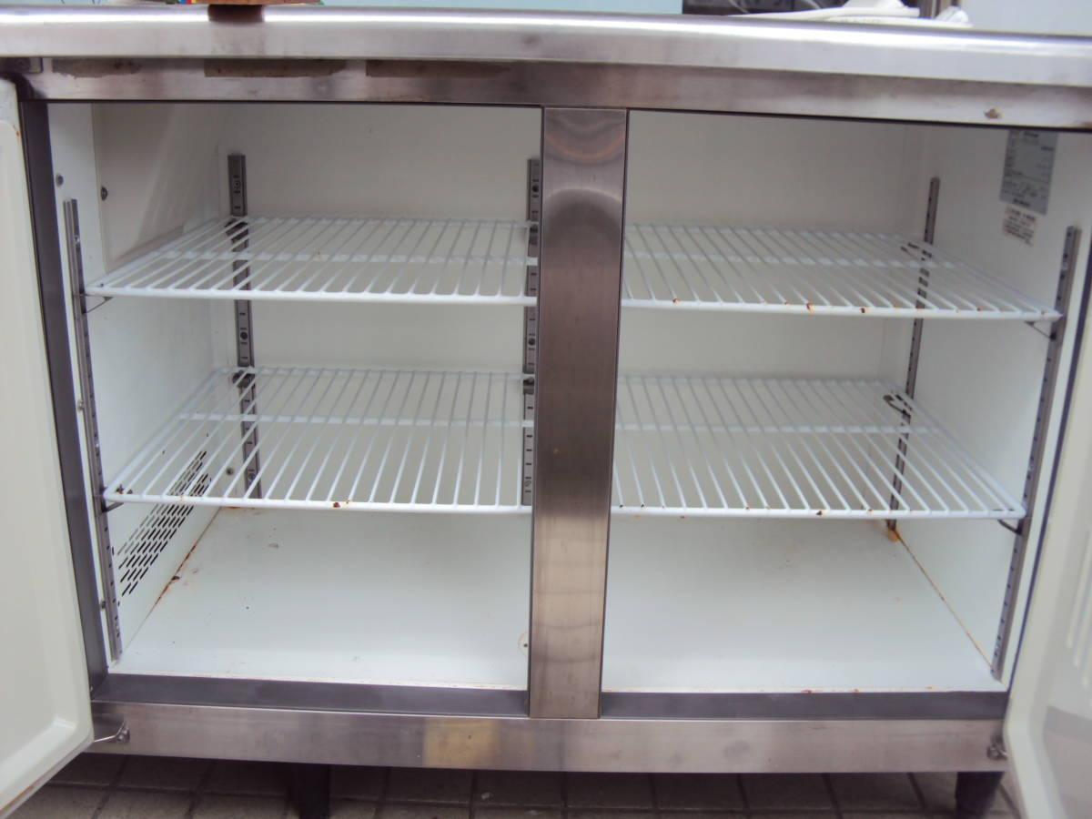 福島工業 フクシマ 業務用 冷凍冷蔵庫 コールドテーブル YRC-181PE 厨房機器 中古 _画像3