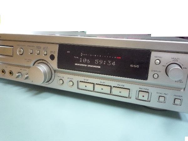 ティアック TEAC☆RW-800 CDレコーダー リモコン付き☆CD再生可 ほか未チェック ジャンク品_画像4
