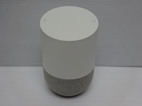 H435-190615-110 Google Home グーグル スピーカーGA3A00538A16 中古品_画像3