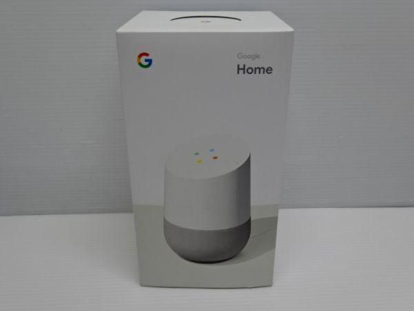 H435-190615-110 Google Home グーグル スピーカーGA3A00538A16 中古品_画像1