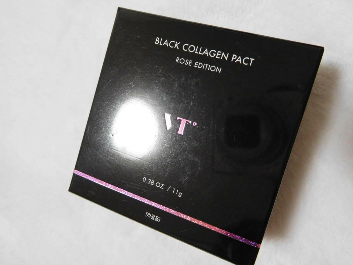 新品、即決☆VTのブラックコラーゲンカラー21、BLACK COLLAGENPACT、人気の艶肌。SPF50+/PA+++、#21新品_画像1