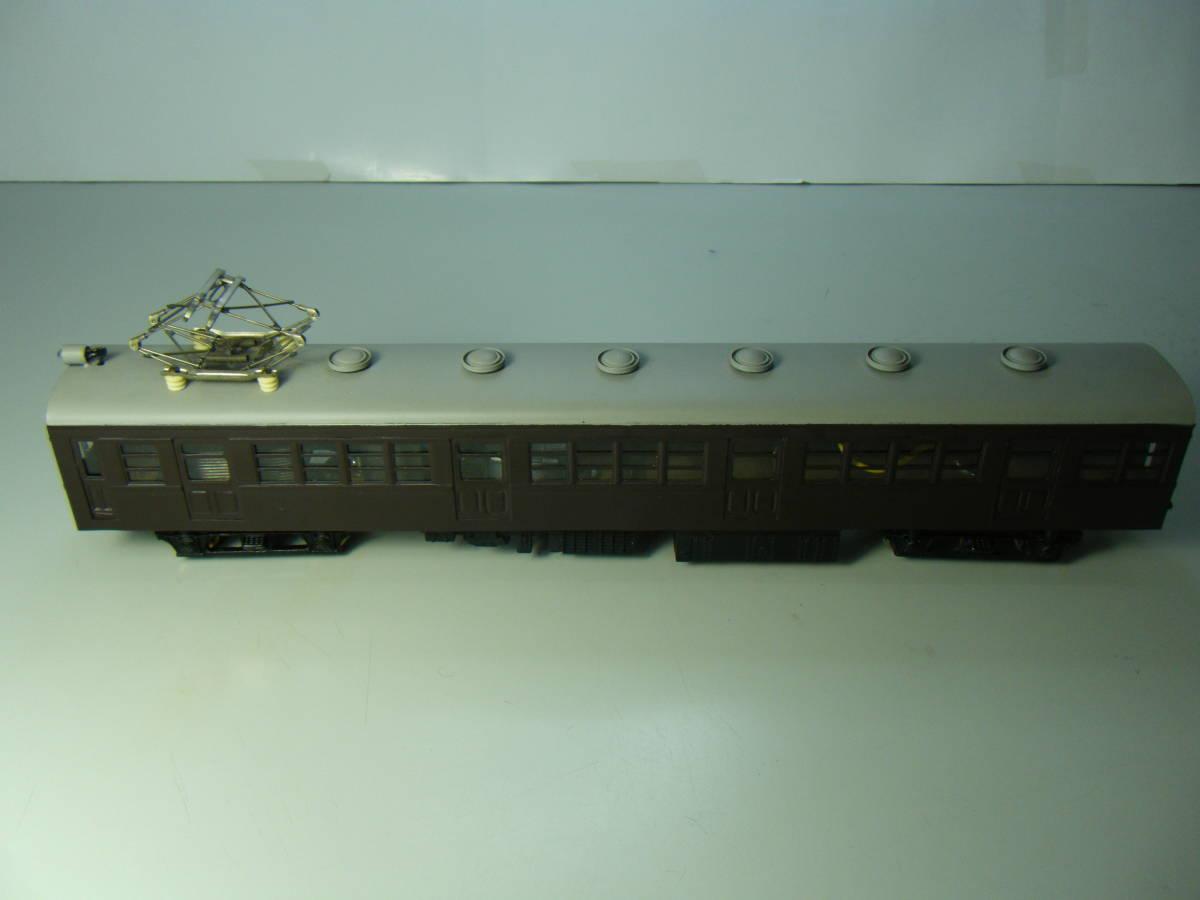 旧型国電73系 2両編成 金属&木製 アンティーク品 メーカー不明 _画像3