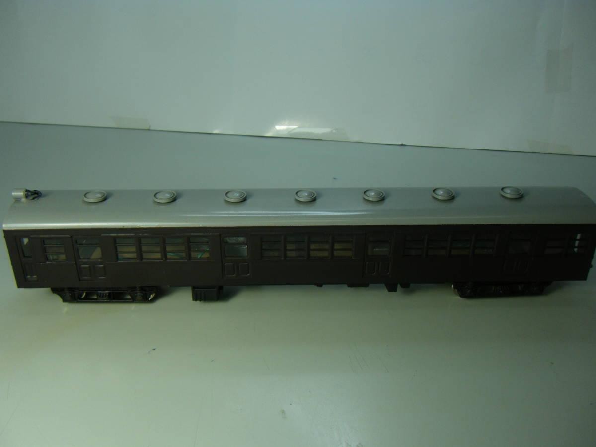 旧型国電73系 2両編成 金属&木製 アンティーク品 メーカー不明 _画像5
