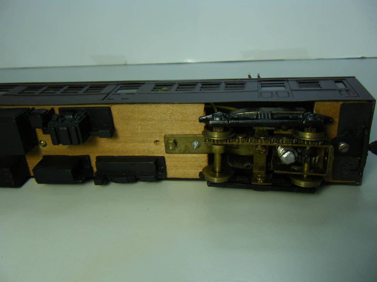 旧型国電73系 2両編成 金属&木製 アンティーク品 メーカー不明 _画像8