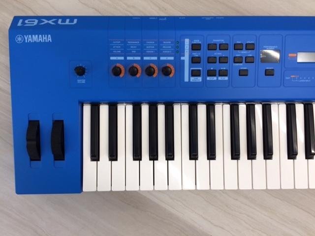 YAMAHA キーボード・シンセサイザー MX61 (ブルー)_画像3
