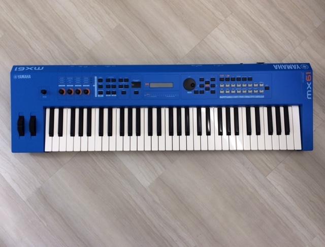 YAMAHA キーボード・シンセサイザー MX61 (ブルー)_画像2
