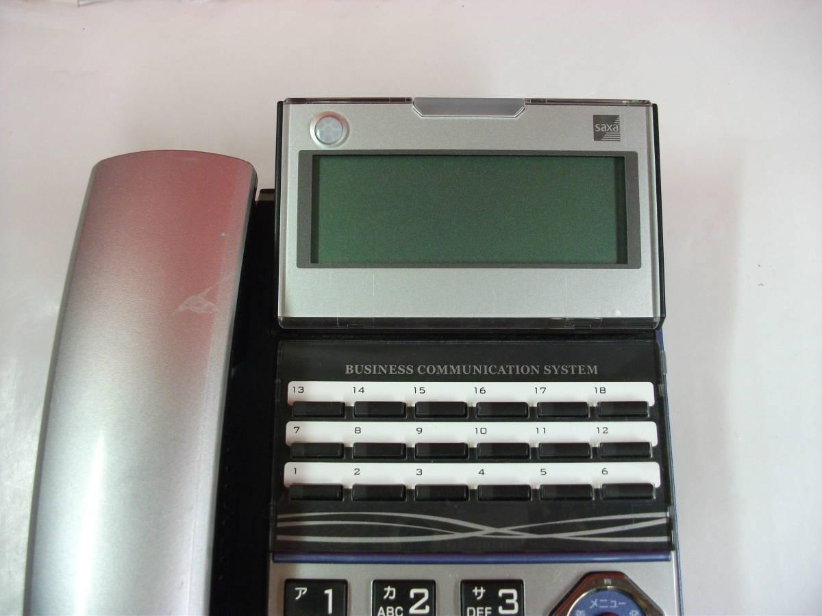 サクサ PLATIA TD710(K) 18ボタン標準多機能電話機 145_画像2