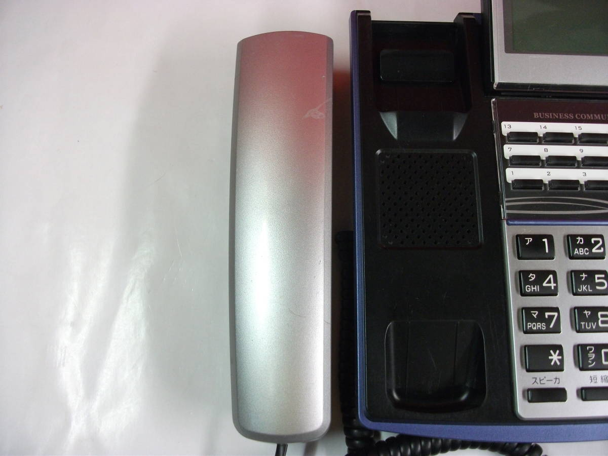 サクサ PLATIA TD710(K) 18ボタン標準多機能電話機 145_画像4