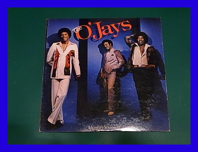 THE O'JAYS/ハッピー・ソングス IDENTIFY YOURSELF/3点以上で送料無料、10点以上で10%割引!!!/LP_画像1