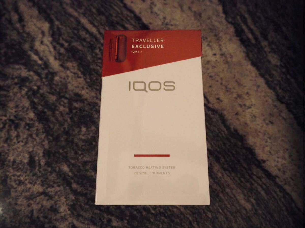 関西国際空港購入 iQOS3 赤 空港限定カラー_画像2