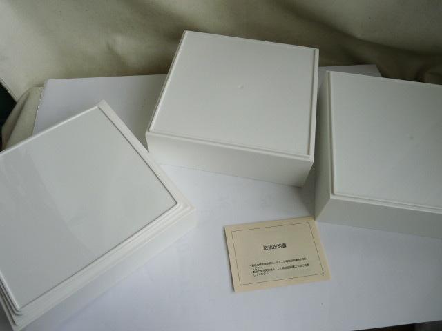 未使用◆DEAN & DELUCA の三段重 大 ホワイト_画像9