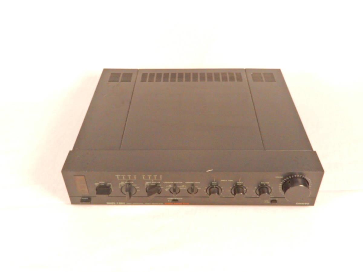 ONKYO 音響 オンキョー プリアンプ P-306R オーディオ 通電確認済