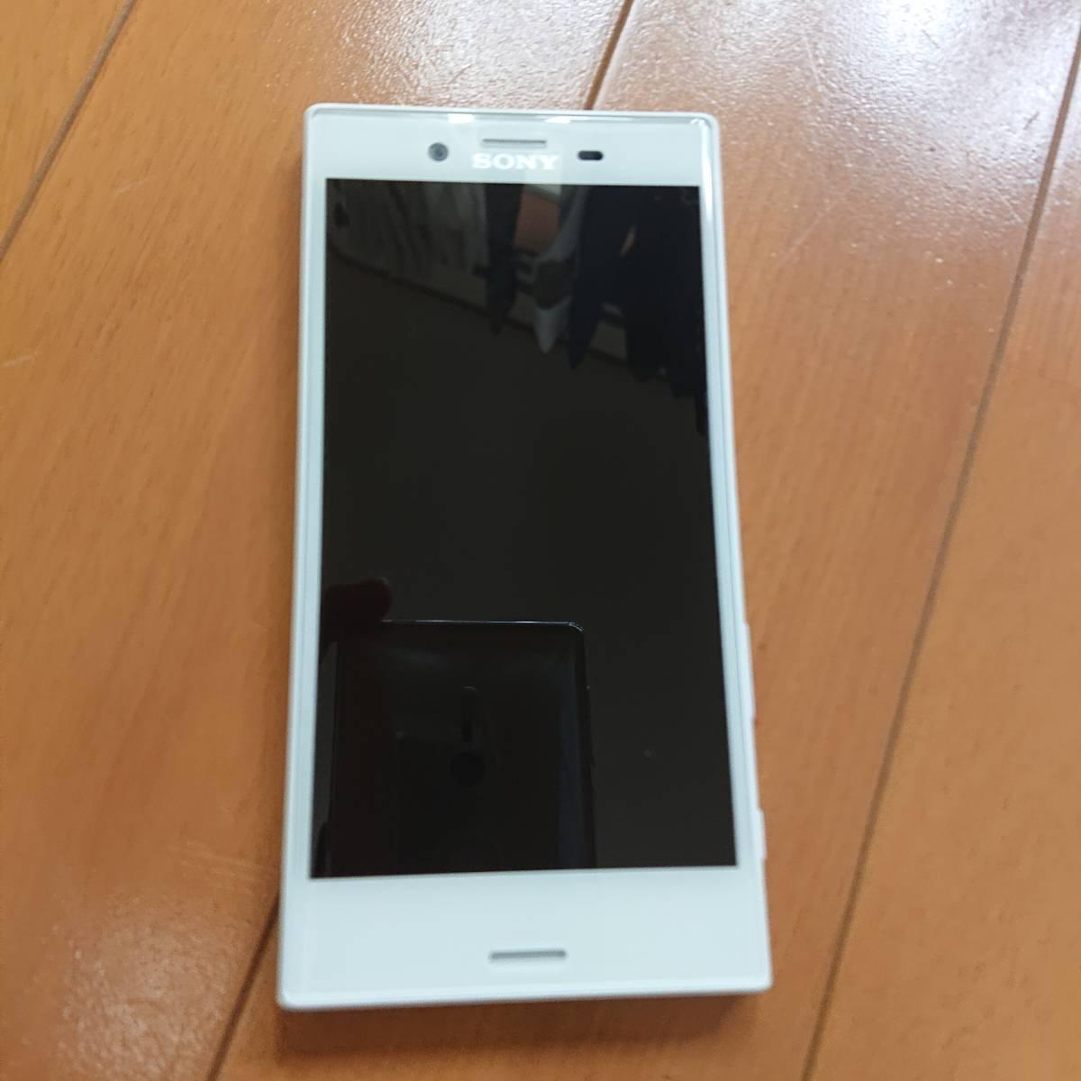 美品☆ Xperia X Compact SO-02J ホワイト_画像2