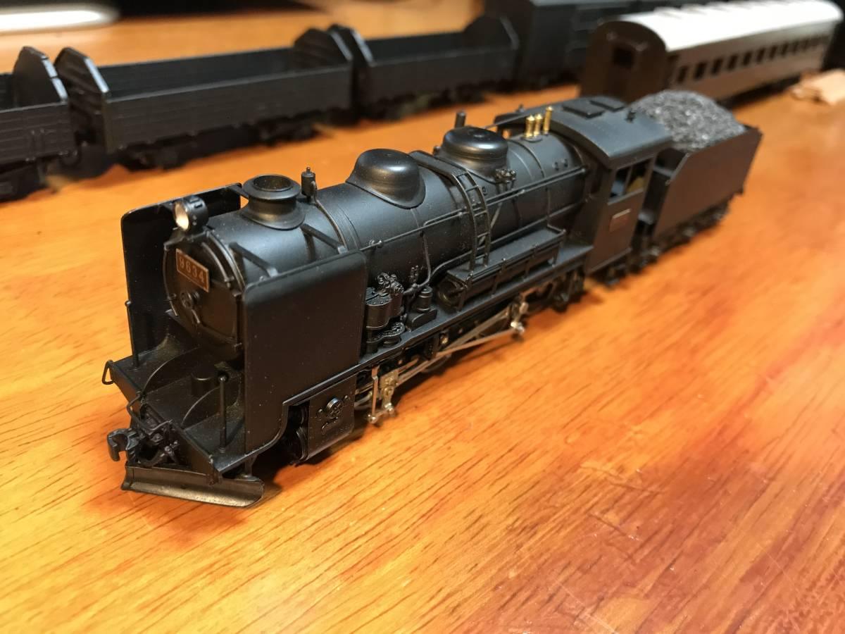 珊瑚 9600 キット組立 1/87 12mm (HOn3 1/2) 客車、貨車つき 9634 米坂線