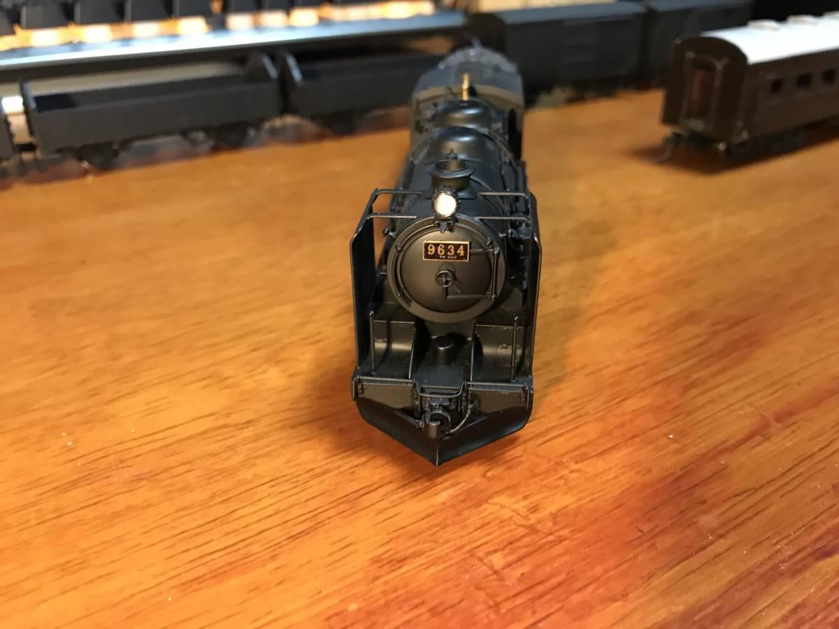 珊瑚 9600 キット組立 1/87 12mm (HOn3 1/2) 客車、貨車つき 9634 米坂線_画像2