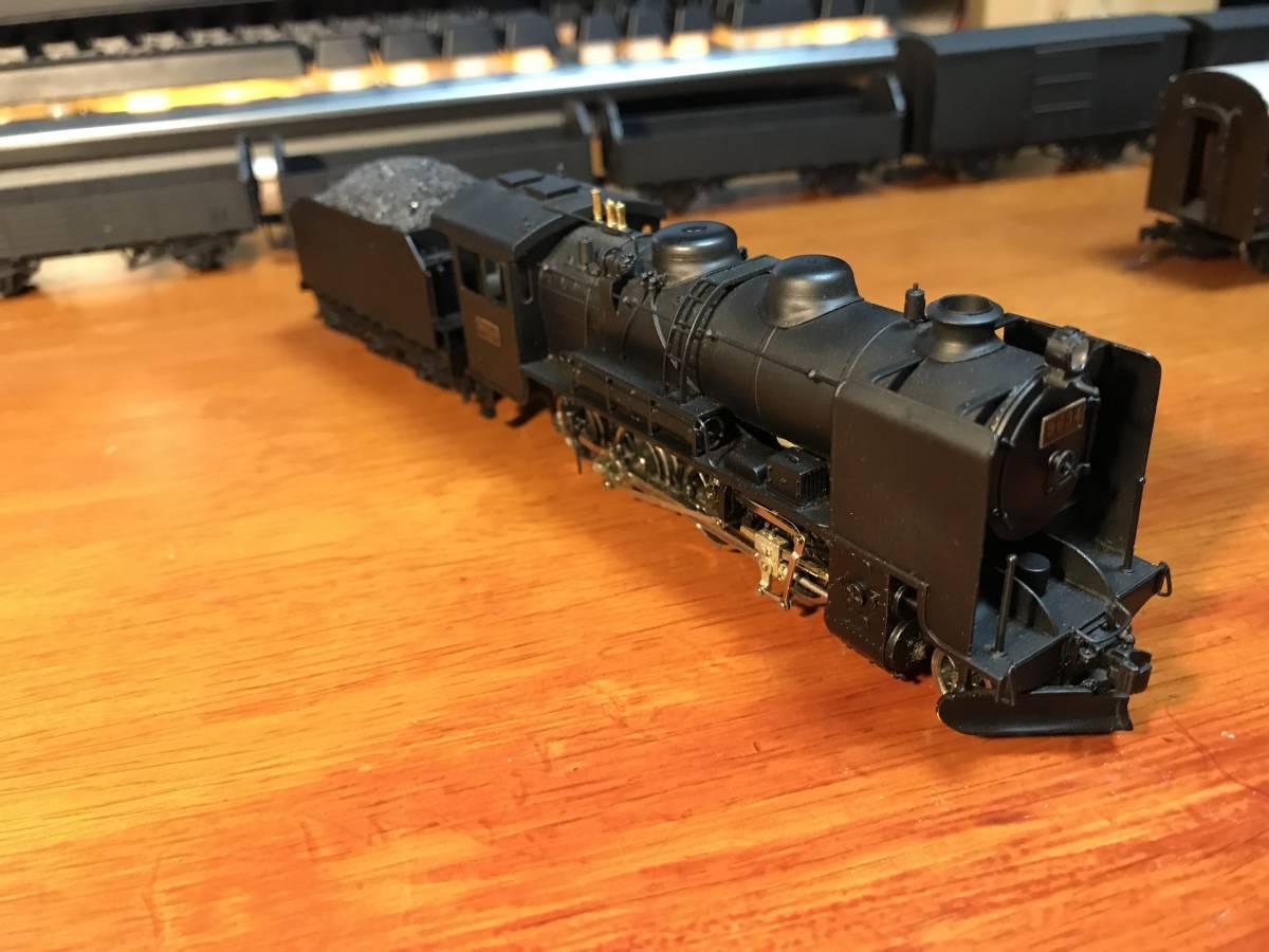 珊瑚 9600 キット組立 1/87 12mm (HOn3 1/2) 客車、貨車つき 9634 米坂線_画像3