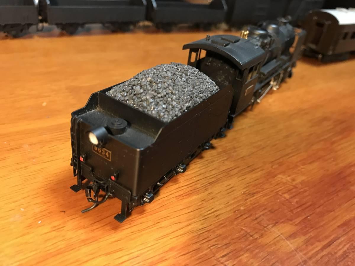 珊瑚 9600 キット組立 1/87 12mm (HOn3 1/2) 客車、貨車つき 9634 米坂線_画像4