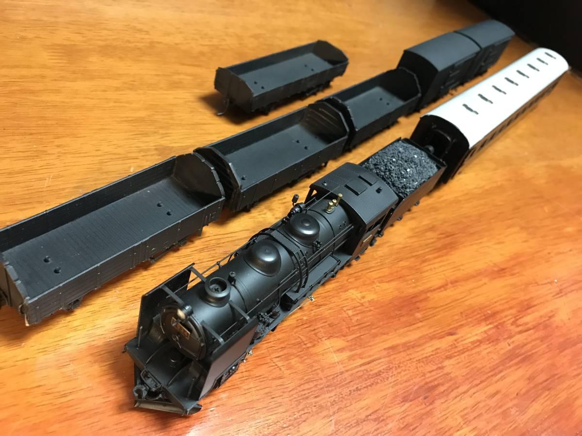 珊瑚 9600 キット組立 1/87 12mm (HOn3 1/2) 客車、貨車つき 9634 米坂線_画像5