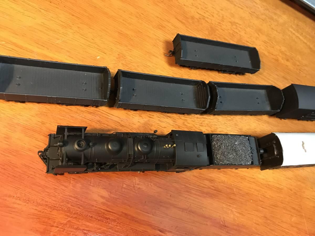 珊瑚 9600 キット組立 1/87 12mm (HOn3 1/2) 客車、貨車つき 9634 米坂線_画像9