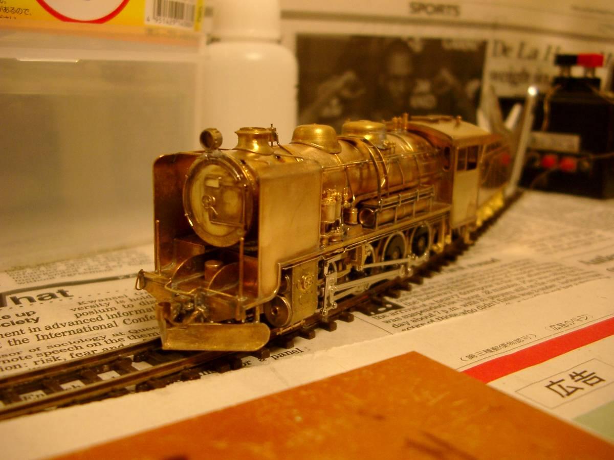 珊瑚 9600 キット組立 1/87 12mm (HOn3 1/2) 客車、貨車つき 9634 米坂線_画像10