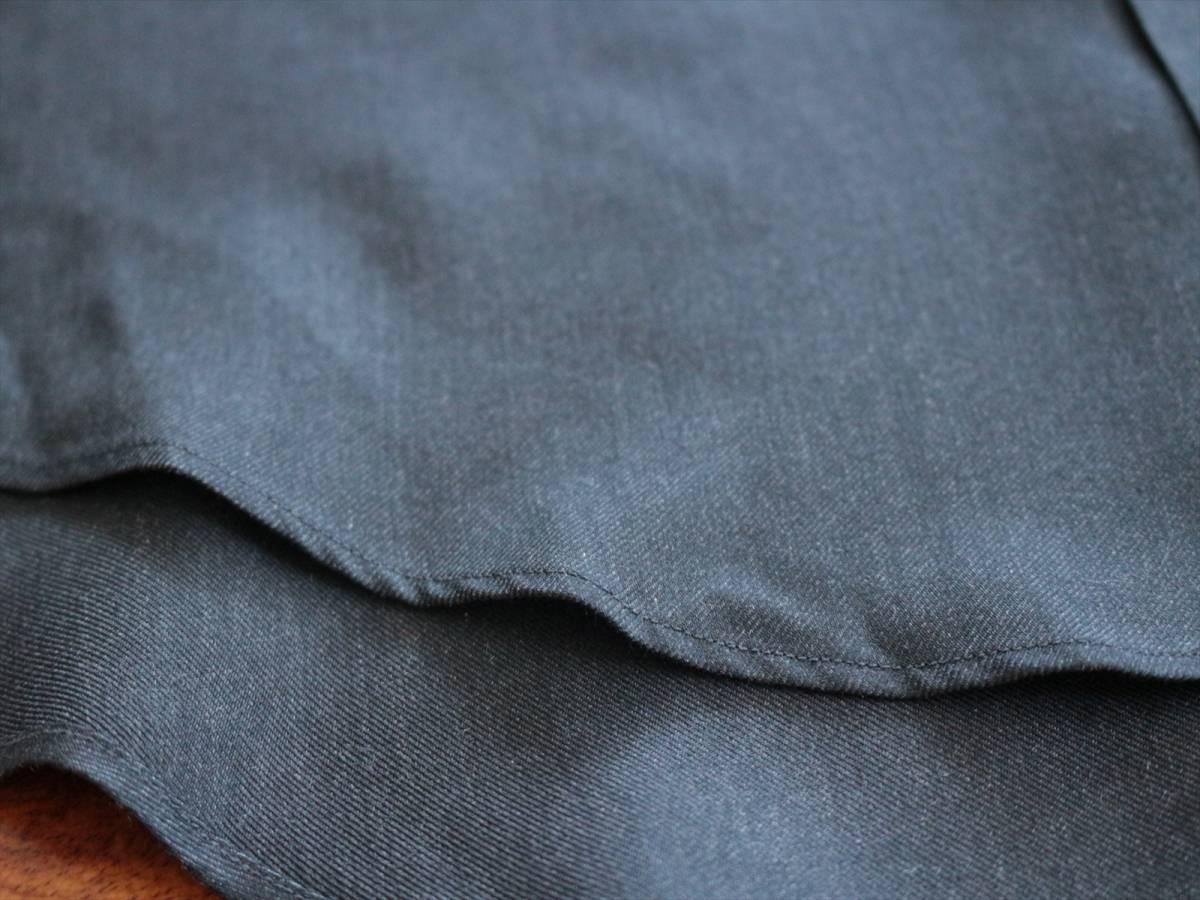 本物保証|エルメス マルジェラ期 シャツ ブラウス シルク 100% ブラック 黒 良品 HERMES_画像10