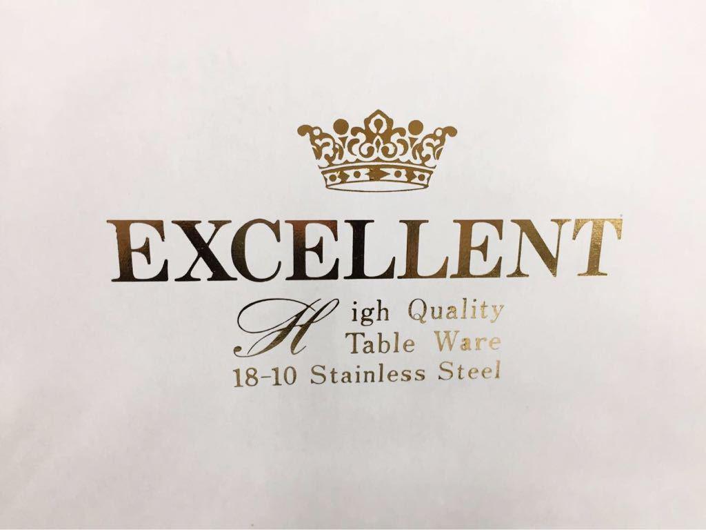 610c5☆新品☆EXCELLENT TABLE WARE ディナー カトラリーセット 各5本 25pcs スプーン フォーク ナイフ ステンレススチール igh_画像8