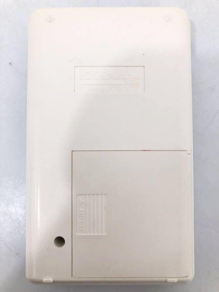 620h1 レア! CASIO カシオ 関数電卓 DX-19 scientific calculator 計算機 電卓 関数 分数計算 通電確認済み 1976年 昭和レトロ 希少 !_画像3