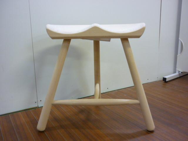 【美品】 デンマーク製 Warner Shoemaker Chair No.42 ワーナー社 シューメーカーチェア■スツール■ACTUS アクタス■BEECH SOAP_画像2