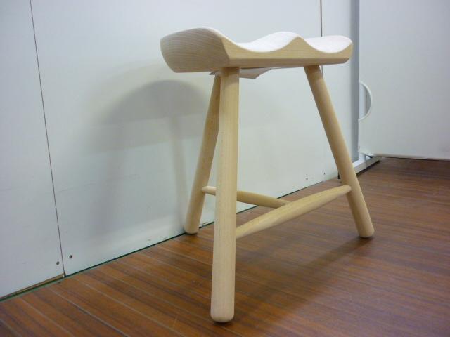【美品】 デンマーク製 Warner Shoemaker Chair No.42 ワーナー社 シューメーカーチェア■スツール■ACTUS アクタス■BEECH SOAP_画像3
