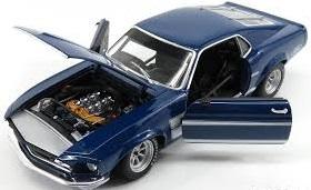 ACME 1:18 1969 Boss 302 フォード トランザム マスタング ストリートバージョン_画像3