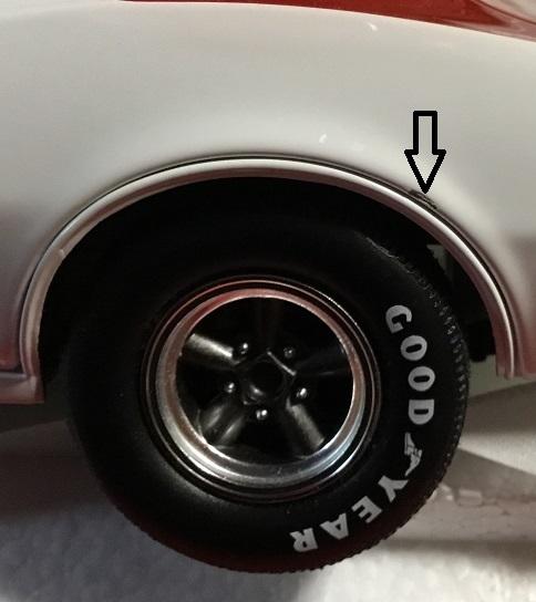 ACME 1:18 #26 JERRY TITUS 1968 ポンティアック トランザム AM ファイアーバード トリビュート _画像4