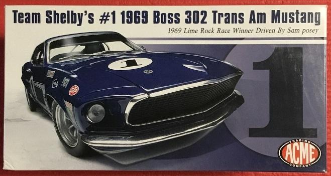 ACME 1:18 1969 Boss 302 フォード トランザム マスタング ストリートバージョン