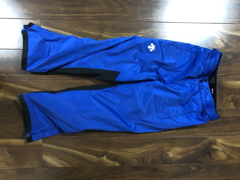 <2019> OGASAKA オガサカ DESCENTE デサント 上下 S/Mサイズ S.I.O JACKET /PANTS SIOジャケット パンツ スキーウェア 美良品_画像7