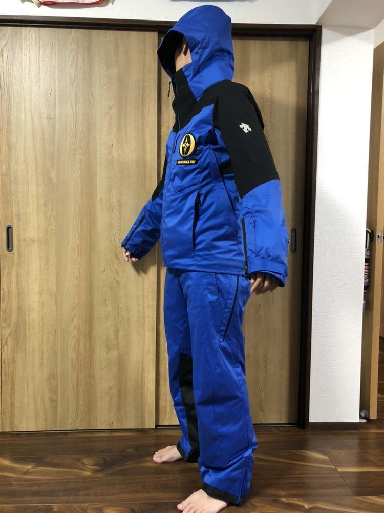 <2019> OGASAKA オガサカ DESCENTE デサント 上下 S/Mサイズ S.I.O JACKET /PANTS SIOジャケット パンツ スキーウェア 美良品_画像2