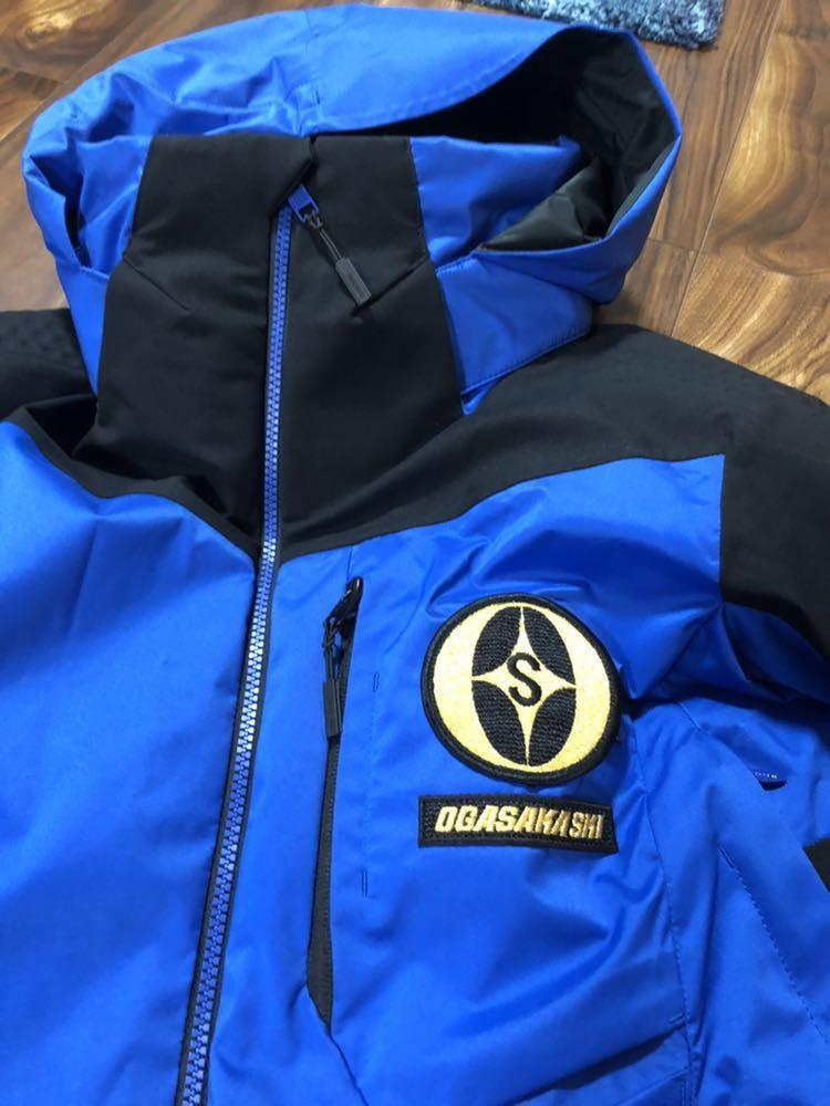 <2019> OGASAKA オガサカ DESCENTE デサント 上下 S/Mサイズ S.I.O JACKET /PANTS SIOジャケット パンツ スキーウェア 美良品_画像6