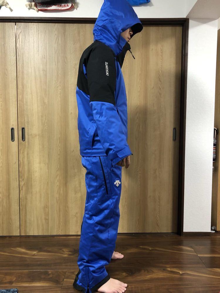 <2019> OGASAKA オガサカ DESCENTE デサント 上下 S/Mサイズ S.I.O JACKET /PANTS SIOジャケット パンツ スキーウェア 美良品