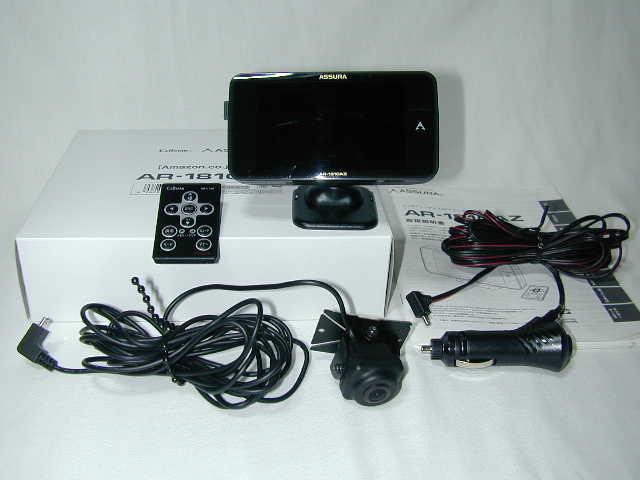 セルター ASSURA 無線LAN 3.7インチ液晶搭載 GPS一体型レーダー探知機 AR-181GAZ (中古品)_画像1