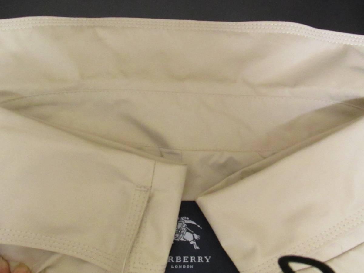 Burberry バーバリー レディース スプリングコート 15号 ベージュ★レインコート ステンカラーコート シリコンコーティング_画像6