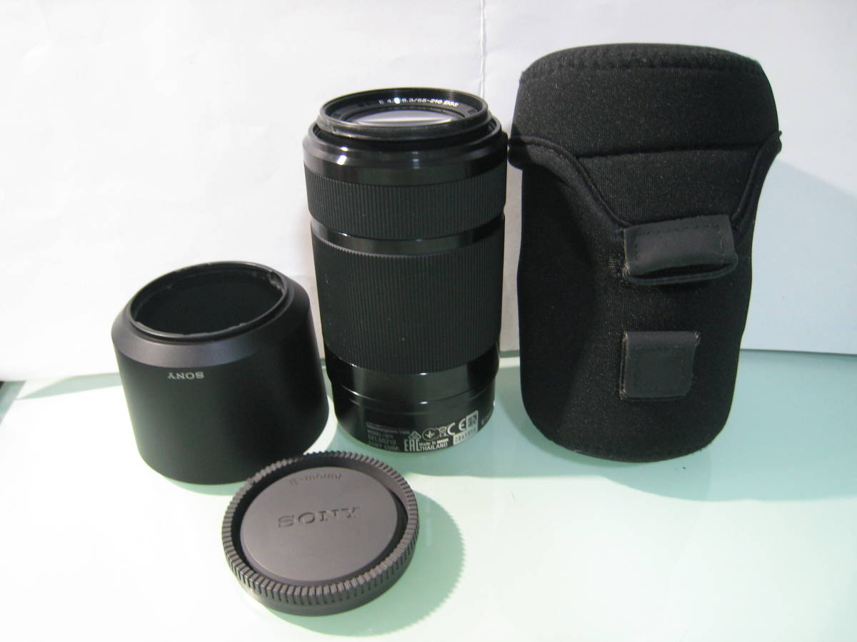 SONY E 55-210mm F4.5-6.3 OSS SEL55210