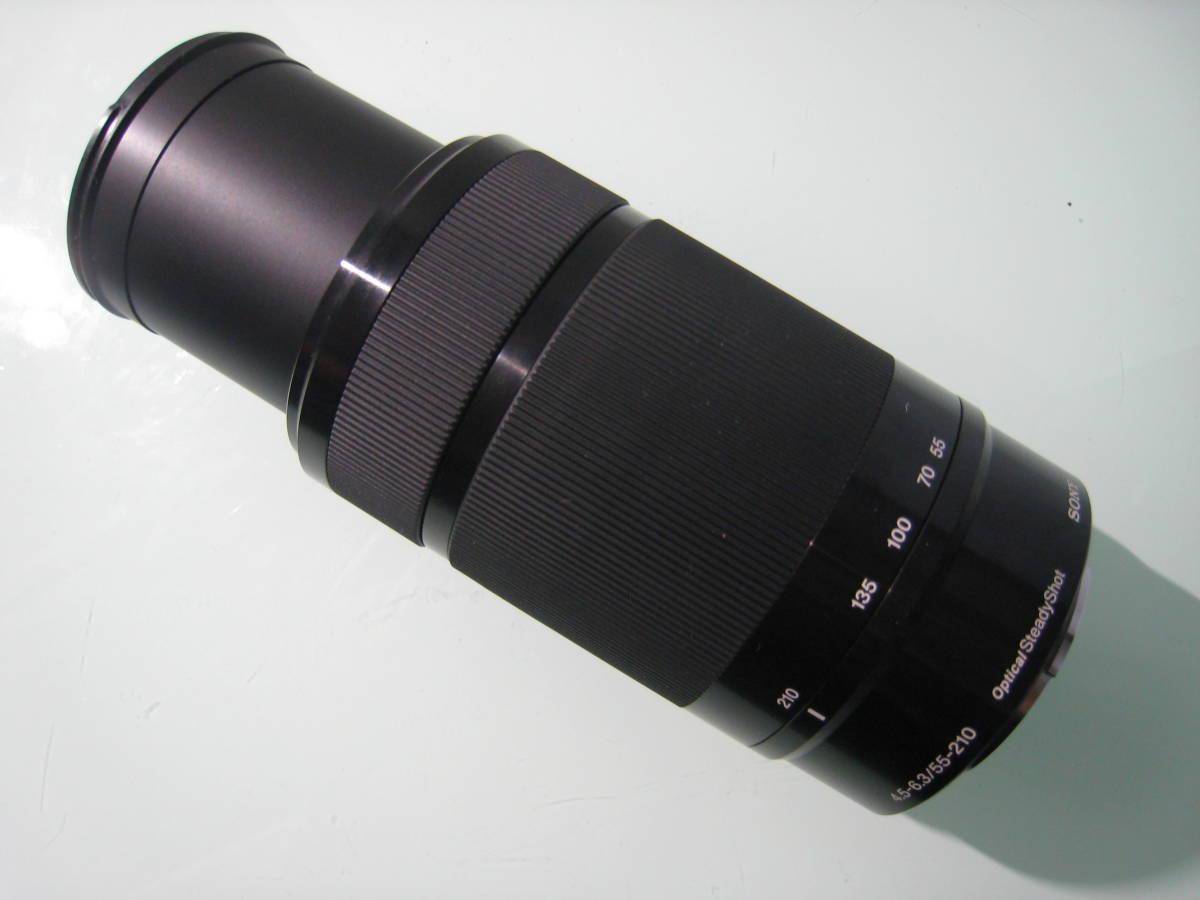 SONY E 55-210mm F4.5-6.3 OSS SEL55210 _画像3