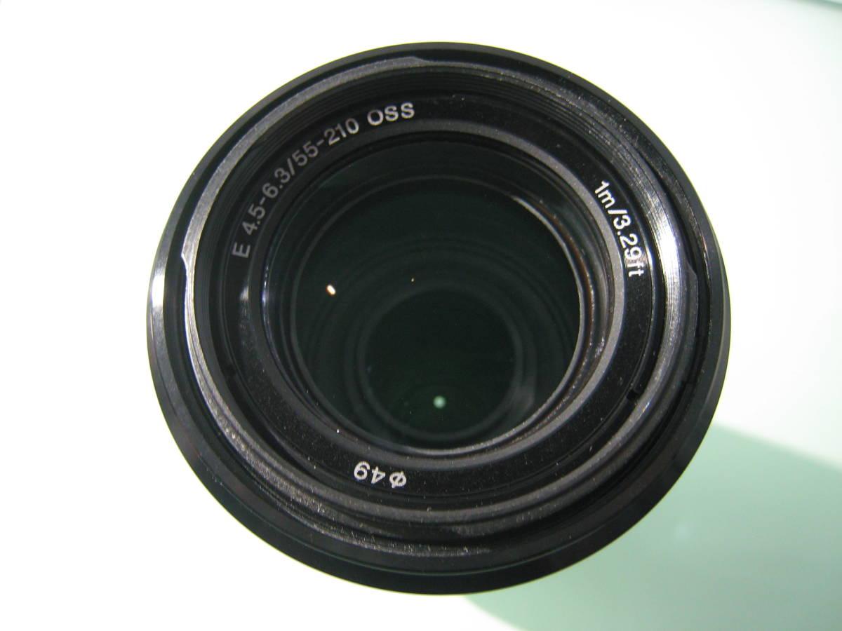 SONY E 55-210mm F4.5-6.3 OSS SEL55210 _画像4
