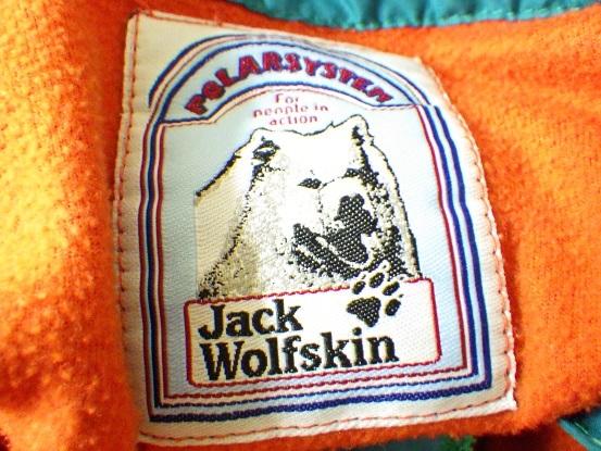 Jack Wolfskin ジャックウルフスキン 半袖 ハーフジップ プルオーバー フリース_画像3
