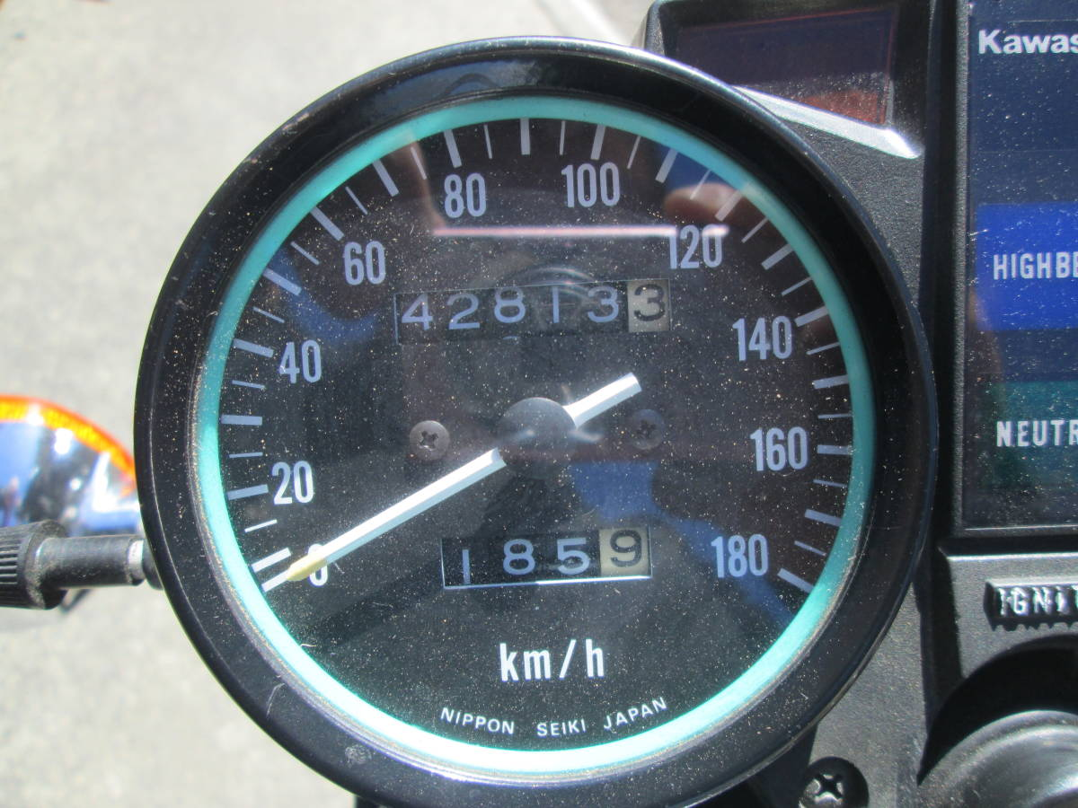 Z400J Z400FX KZ400EG KZ400J-009XXX オールペイント 陸送手配可 車検32年12月まで 旧車_画像5
