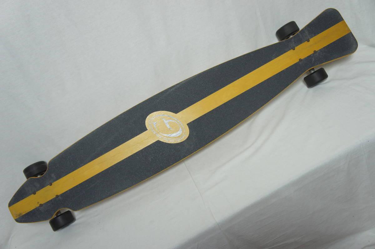 【Gravity】グラビティ ロングスケートボード 全長119cm タイヤ径7.3cm  サーフスケート スケボー ビンテージ オールド