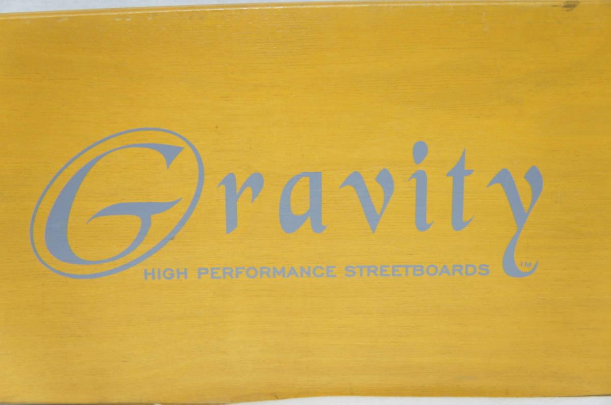 【Gravity】グラビティ ロングスケートボード 全長119cm タイヤ径7.3cm  サーフスケート スケボー ビンテージ オールド_画像3