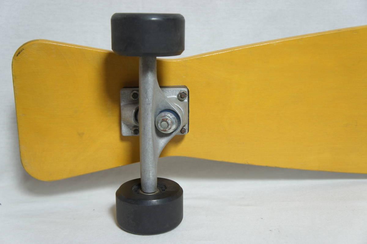 【Gravity】グラビティ ロングスケートボード 全長119cm タイヤ径7.3cm  サーフスケート スケボー ビンテージ オールド_画像4