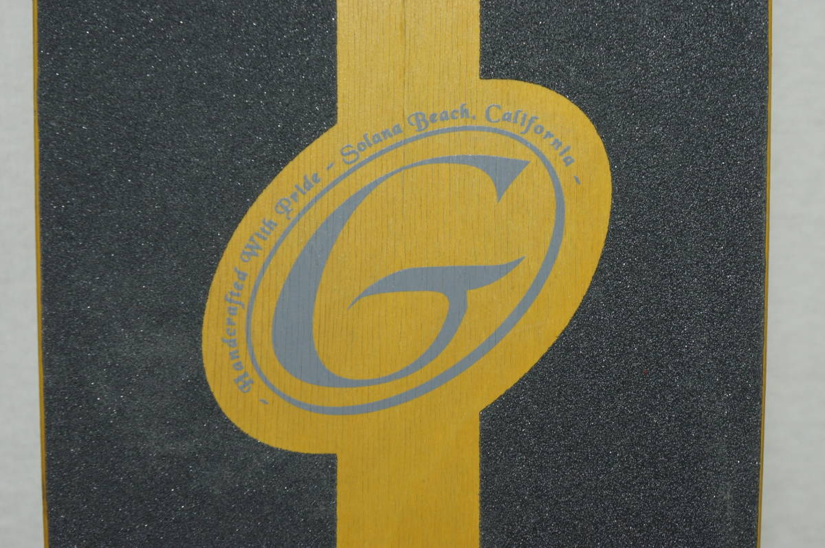 【Gravity】グラビティ ロングスケートボード 全長119cm タイヤ径7.3cm  サーフスケート スケボー ビンテージ オールド_画像6