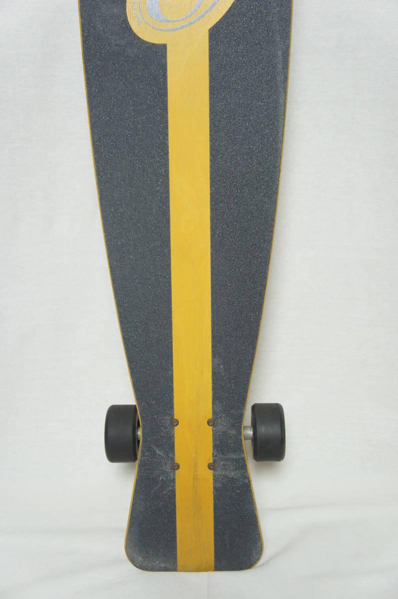 【Gravity】グラビティ ロングスケートボード 全長119cm タイヤ径7.3cm  サーフスケート スケボー ビンテージ オールド_画像8